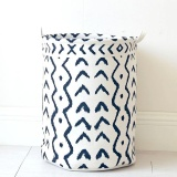 List Price Geometric Pattern Folding Clothes Laundry Storage Bucket Sundry Storage Basket Intl Oem