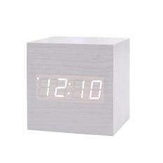 Low Cost Getek New Modern Wooden Wood Digital Led Desk Alarm Clock Thermometer Timer Calendar Intl