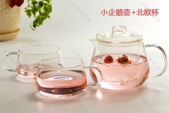 Hongyu Heat Resistant Glass Tea Pot Cup Set On Line
