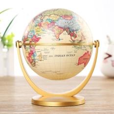 Globe World Desktop Rotating Earth Map Ocean Geography Kid Learn Geography Decor - intl