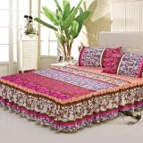 Compare Prices For Gogolife Cotton Soft Bed Skirt Bedsheet Bedclothes High Quality 33 Purple