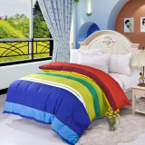 Compare Prices For Gogolife Sanding Cotton High Quality Quilt Cover All Size 6 Rainbow Candy