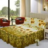 Sale Gogolife Soft Cotton Bed Skirt Bedsheet Bedclothes 31 Sunflower Online On China