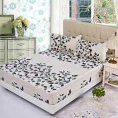 Sale Gogolife Soft Cotton Fitted Bed Sheet 28 Leaf Oem Cheap