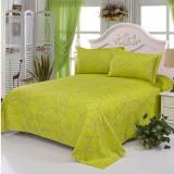 New Gogolife Soft Flat Bed Sheet 25 Green