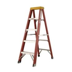 Golden Eagle Fibreglass A Ladder [Load 150kg] 6 steps