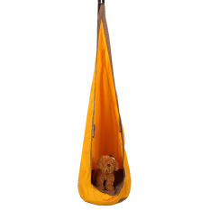 Golden Kids Children Hammock Pod Swing Hanging Set Inflatable Chair Seat Tent Outdoor - intl