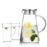 Buy Goods Is Still Home Explosion Proof Heat Resistant High Temperature Glass Kettle Cool Cold Water Pot Cheap China