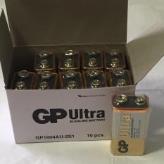 Price Gp 9V Ultra Alkaline Batteries 10 Pcs On Singapore