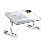 How To Buy Grey Xgear A8 Foldable Portable Laptop Desk Bed Table Stand Fan