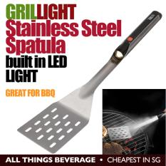 GrilLight Stainless Steel BBQ Grill Grilling Spatula built in LED Light (Cheapest in SG)