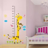 Price Growth Chart Giraffe Monkey Height Chart Vinly Wall Stickers For Nursery Room Intl Oem New