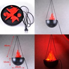 Halloween / Xmas Party / Table Decoration Electric Silk Lamp FLAME LIGHT-Tabletop Fake Fire - intl