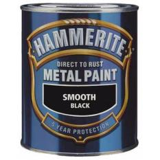 Price Hammerite Direct To Rust Metal Paint Smooth Gloss Finish 750Ml Exterior Interior Smooth Black Hammerite Original