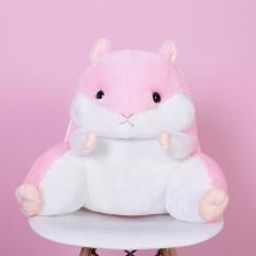 Cute Hamster Student Lumbar Support Pillow Totoro Shopping