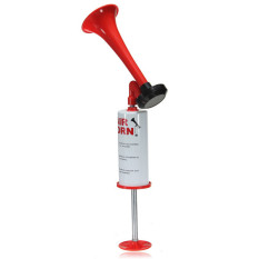 Hand Held Loud Pump Action Air Horn Klaxon No Gas For Sport Lowest Price