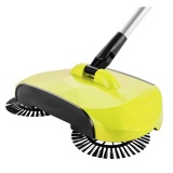Hand Push Sweeper Automatic Stainless Steel Sweeping Machine Handle Broom Household Floor Cleaning Package 360 Degree Rotation Sweep Dustpan Intl Not Specified Discount