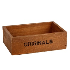 Handmade Rustic Antique Storage Vintage Wooden Boxes/crates Trugs Retro - Intl By Crystalawaking.