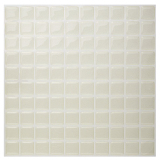 How To Get Hanhwa L C Bodaq D I Y Tile Sheet Sqp03 Square Style Pack Of 10 Pearl Ivory