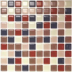 Hanhwa L C Bodaq D I Y Tile Sheet Sqw01 Square Style Pack Of 5 Red Navy Discount Code