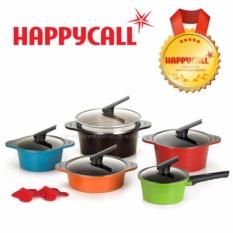 Happy Call Alumite Ceramic 5 Pot Set Made In Korea No 1 Hapan Frying Pan Intl Compare Prices