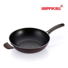 Where To Shop For Happy Call Diamond Porcelain Coating Wok Pan 30Cm Korea No 01 Cook Ware The Best Gift Of Housewives Made In Korea