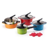 Review Happycall Alumite Ceramic 4 Pots Set Made In Korea No 1 Happy Call Pan Frying Pan Happy Call