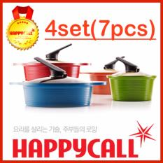 Happycall Korea Alumite Ceramic Pot 4 Set - Intl By Gear Factory.