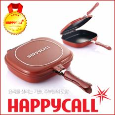 List Price Happycall Korea Double Sided Pan Deep Type Red Intl Happy Call