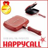 Happycall Korea Double Sided Pan Standard Type Red Intl Lowest Price