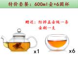Review Heat Proof Glass Tea Pot Set Oem On China