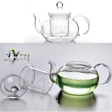 Review Heat Resistant Glass Teapot Infuser Tea Pot Clear 600Ml On China