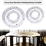 Compare Prices For Heavy Duty Aluminium Alloy Rotating Bearing Turntable Round Table Smooth Swivel Plate 8 Inch Intl