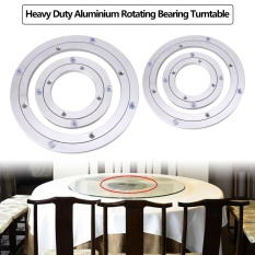 Heavy Duty Aluminium Alloy Rotating Bearing Turntable Round Table Smooth Swivel Plate 8 Inch - Intl By Highfly.