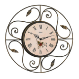 Compare Price Hermle Clearwater Wrought Iron Wall Clock Made In Germany On Singapore