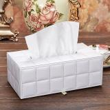 Retail High Grade Leather Tissue Box Intl