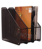 Buy Triple High File Storage Holder Iron Mesh Books And Paper Rack China
