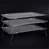 High Quality Stainless Steel Metal 3 Tier Cake Cookie Bread Cooling Rack Christmas Supplies Kitchen Accessories Baking Tools Intl Compare Prices