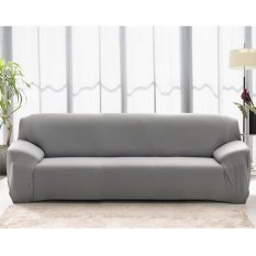 Cheaper High Quality Store New Fashion L Shape Textile Spandex 3 Seaters Sofa Cover Furniture Protector Couch Slipcover Home Decoration Intl