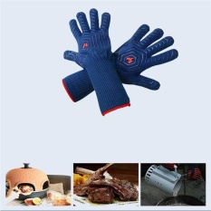 Sale High Temperature Resistant Bbq Oven Insulation Gloves Fireproof Barbecue Microwave Oven Gloves Intl Oem Branded