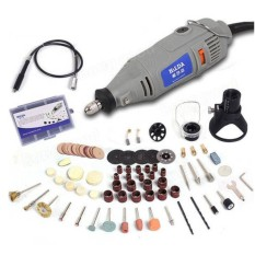 HILDA 220V 150W Variable Speed Electric Grinder with 91pcs Accessories Mini Rotary Tool Drill - intl