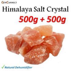 Compare Himalayan Salt Lamp Crystal Chunk Refill Air Dehumidifier Air Filter Purifier