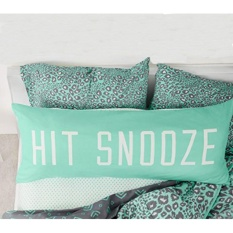 Compare Hit Snooze Cotton Decorative Long Body Pillow Case Cover Intl