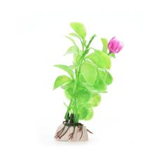 HKS Realistic Plastic Plants Decorative Aquarium Fish Tank Green(Export)