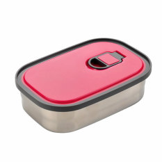 Latest Hks Student Lunch Box 730Ml Stainless Steel Red Export