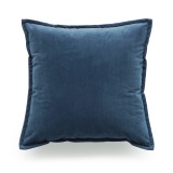 Sale Hof Deco Decorative Throw Pillow Case Short Plush Velvet Navy Blue Solid Double Sides Cushion Cover 45X45 Cm Intl Online On Singapore