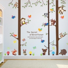 hogakeji Halloween Christmas Home Living Wall Stickers For Living Room Kids Bedroom - intl