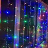 Store Holiday Lights 4 5 3Meter 300Leds Icicle Curtain Led Light String 220V Eu Plug New Year Christmas Garlands Fairy Party Wedding Decor Xr Intl Chincolor On China