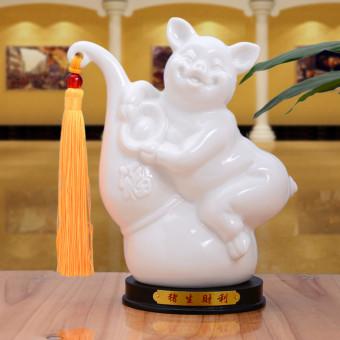 Ceramic Twelve Zodiac Mouse Rabbit Dragon Ornaments Lowest Price