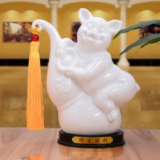 Brand New Ceramic Twelve Zodiac Mouse Rabbit Dragon Ornaments